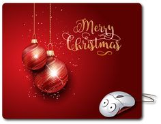 Christmas gift New Year 2017 gift Mouse Mat Christmas present Computer Mouse Pad Computer pad 2017 Happy new year gift ideas christmas decor