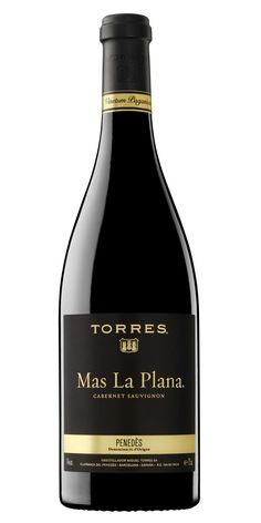 botella Mas La Plana.  Bodegas  Torres ( 40 euros!! pero muy bueno)In this small vineyard D.O. Penedes, only the most select Cabernet Sauvignon grapes are grown.