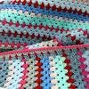 Granny Stripe Edging | AllFreeCrochet.com