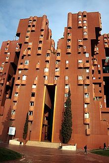 Walden 7. West Barcelona, Spain. Ricardo Bofill.1975