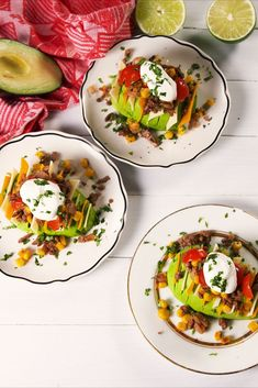 These Budget-Friendly Ground Beef Recipes Are Easy To Make And SO Delicious Burrito AvocadosDelish Best Burrito, Beef Zucchini Enchiladas, Low Carb Enchiladas, Ground Beef Dishes, Ground Beef Recipes Easy, Bacon Breakfast, Low Carb Breakfast, Best Bolognese Sauce, Kitchens
