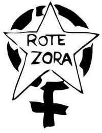Logo of Rote Zora (need additional details of connection to RAF)