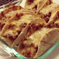 Oven Baked Tacos!