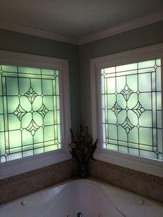Bradham Bevel Window Privacy Decorative Window Film