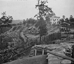 31 August - 1 September 1864 - Battle of Jonesborough (Jonesboro, Georgia) - Casualties: 3,149 = 1,149 Union / 2,000 Confederate - Defense fortifications
