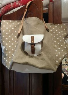 Sac lin style pomponette