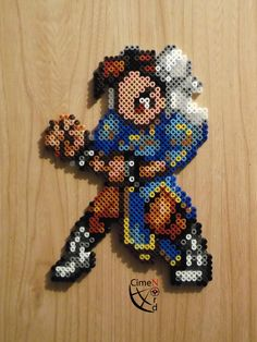 CSW Chun Li STF Perler Beads by Cimenord on deviantART