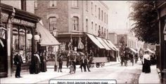 Baker Street, Enfield. Local History, Family History, Enfield England, Enfield Middlesex, Enfield Town, Vintage London, Family Memories, Baker Street