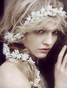 Sasha Pivovarova by Paolo Roversi for Vogue Italia September 2007