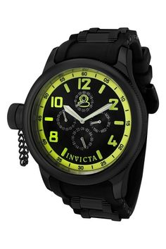MY WATCH of choice currently. The Invicta  Men's Russian Diver Series Chronograph Watch