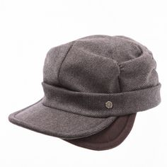 Double baby brim casquette  www.omae.co/shop/brownhat