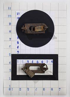 IRON FROZEN - Maurizio Di Feo - 1914/2016 - Stampa lambda -  #mauriziodifeo #artistaitaliano #milanoarte #art #contemporaryart #mixedmediapainting #assemblageart