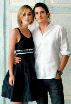 Keira Knightley and Orlando Bloom aAAAAAWWWWwwww