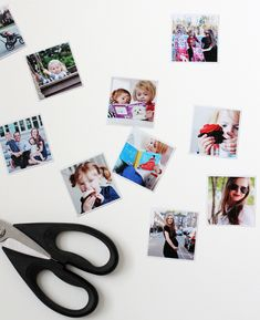 DIY Instagram Photo Magnets
