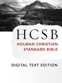 Free Book – The Holy Bible: HCSB Digital Text Edition: Holman Christian Standard Bible Optimized for Digital Readers is free in the Kindle store and from Barnes & Noble, Kobo and Sony, courtesy of Holman Bible Publishers. From what I can tell, the EPUB editions have not been updated, but this is a new ASIN/Edition on Kindle.