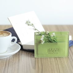 This simple card holder by Akusara Journal. Holds up to 6 card! shop at LocalBrand.co.id