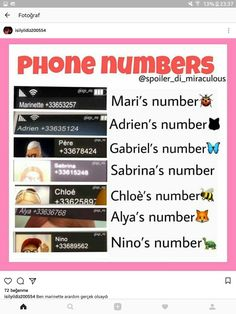 Has anyone ever tried calling any of these numbers? - - Has anyone ever tried calling any of these numbers? Ladybug Y Cat Noir, Meraculous Ladybug, Ladybug Comics, Miraculous Ladybug Wallpaper, Miraculous Ladybug Fan Art, Marinette E Adrien, When Things Go Wrong, Fandoms, Kids Shows
