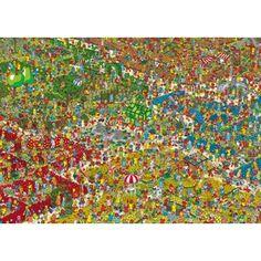 Waar is Wally : Bloementuin