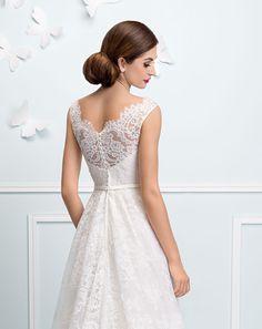 Taft en Tule, trouwjurk, bruidsjapon, kanten jurk, jurk met mouw