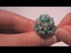 Tutorial: anello Ray of light/Ring Ray of light (Simple beading work)