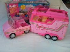 Barbie car horse trailer..... played with this for years :D