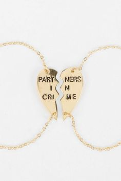 Besties Bracelets :: Partners in Crime