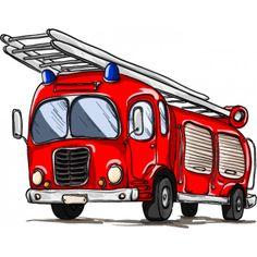 muursticker brandweerauto - Google zoeken