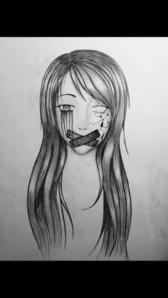 easy drawings pencil drawing depression
