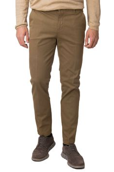 d64cffd702 NOTIFY Chino Style Trousers Size 28 Stretch Garment Dye Slim Fit Made in  Italy #fashion