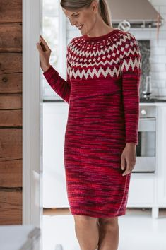 VK is the largest European social network with more than 100 million active users. Knit Skirt, Knit Dress, Dress Skirt, Two Color Knitting Patterns, Purple Furniture, Intarsia Knitting, Amarillis, Long Sweater Dress, Simply Red