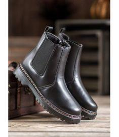 Pérka na platforme Chelsea Boots, Platform, Ankle, Shoes, Fashion, Wedge, Zapatos, Moda