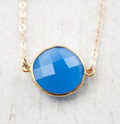 Blue Chalcedony Necklace Accoutrement, Calcédoine Bleue, Collier Bleu,  Accessoires De Bijoux, Bijoux d50c9bb8653
