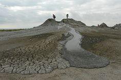 AZERBAIJAN -Mud Volcanoes