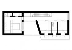 Hein Troy Architekten CO2 neutrales Holzhaus Grundriss Obergeschoss