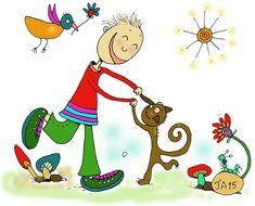 Pinokkio 9_Tiina Ahoniemi Snoopy, Illustration, Fictional Characters, Illustrations, Fantasy Characters