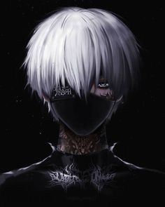 Anime Demon Boy, Anime Devil, Dark Anime Guys, Tokyo Ghoul Wallpapers, Cool Anime Wallpapers, Animes Wallpapers, Tokyo Ghoul Kaneki Mask, Tokyo Ghoul Manga, Anime Shadow