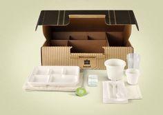 Disposable Picnic Box #box #picnic #packaging