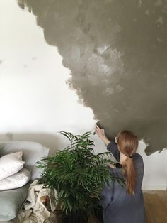 Jotun Lady, Home Remodeling Diy, Green Leaves, House Colors, Minerals, Kids Room, Texture, Studio, Bathroom