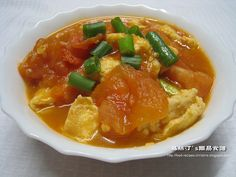 Tomatoes with Eggs, 番茄煮蛋