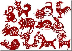 Chinese New Year Designs, great for making stencils! (2014 is year of the Horse)