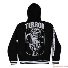 Terror Hooded Zipsweater Wizard (Black) | 801-004-050