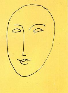 HENRI MATISSE FACE-MASK, 1948