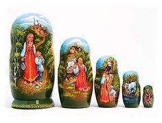 Alyonushka Fairy Tale Nesting Doll