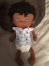 Jan Shackelford OOAK Bi-racial Baby Mario Halloween Boy