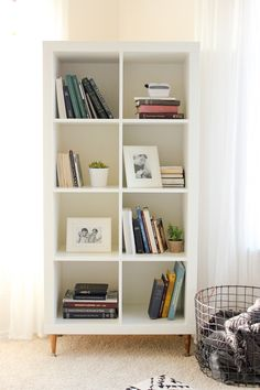 Newest Totally Free Hottest Photos Genius IKEA Kallax Hacks To Organize Your Entire Home Though. Tips The IKEA Kallax series Storage furniture is an essential element of any home. They offer obtain an Ikea Kallax Hack, Ikea Bookshelf Hack, Ikea Kallax Shelf, Ikea Storage, Kallax Shelving, Bookcase Makeover, Ikea Shelf Hack, Diy Shelving, Crate Bookshelf