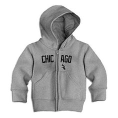White Sox Infant Zip Hood