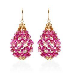 Mallary Marks, Ruby Russian Dome Earrings