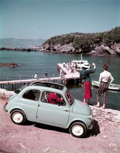 Fiat 500 with suicide doors