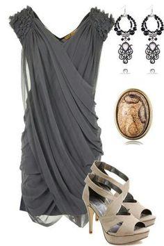 LOLO Moda: Elegant women's fashion 2013 Love this look! Look Fashion, High Fashion, Fashion Beauty, Womens Fashion, Steampunk Fashion, Gothic Fashion, Fashion News, Latest Fashion, Fashion Trends