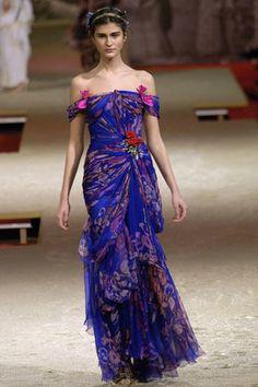 Christian Lacroix Spring 2006 Couture Fashion Show